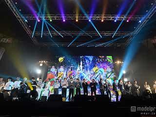 CNBLUE、防弾少年団、KARAハラ&ヨンジら「風船」熱唱で心をひとつに 豪華競演で圧巻LIVE<写真特集>