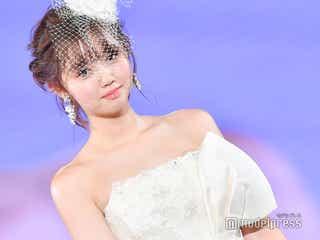江野沢愛美、純白ウエディングドレス姿が360度美しい<神コレ2018A/W>