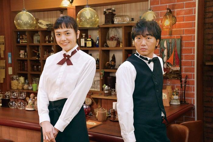 松井愛莉、小沢一敬(提供写真)