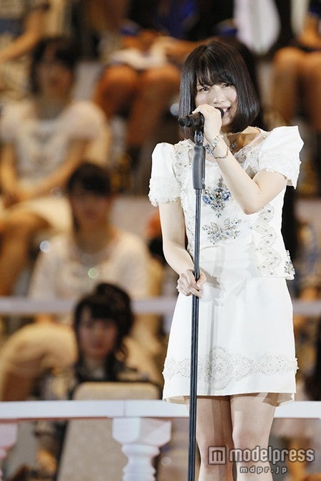 AKB48横山由依、最高順位で泣き崩れ「本当に情けなかった」次期総監督の決意<第7回AKB48選抜総選挙>(C)AKS【モデルプレス】