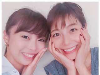 """相武紗季、姉・音花ゆりと2ショット披露 """"美人姉妹""""の仲良しぶりに反響"""