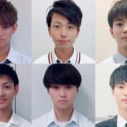 「男子高生ミスターコン2018」中国・四国エリアの候補者一部