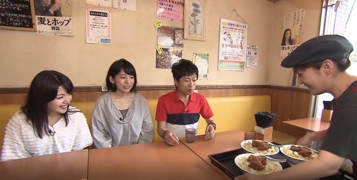 八幡ちゃんぽん(左から)市山真理菜、山村実代、岡本啓/画像提供:BOAT RACE振興会