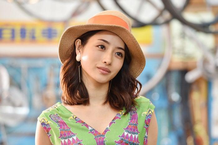 石原さとみ/「高嶺の花」第2話より(C)日本テレビ