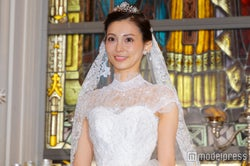押切もえ、結婚後初の公の場 新婚生活を語る「信じているので」