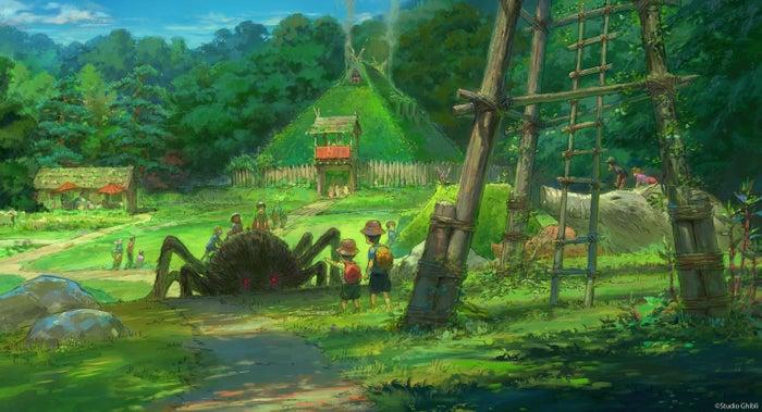 もののけの里エリア(C)Studio Ghibli