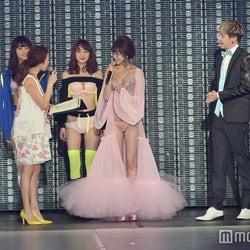 (左から)松本愛、永田レイナ、赤松悠実、高田秋、大川藍、JOY、有末麻祐子(C)モデルプレス