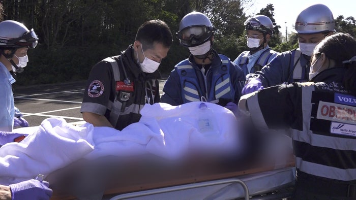 『実録ドクターヘリ緊急救命2-命の現場最前線-』より(C)フジテレビ