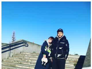 田中美保、夫・稲本潤一選手とのラブラブ動画で結婚5周年「憧れ夫婦」羨望の声