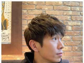 """""""with B""""ブリリアン・コージ、金髪から黒髪にイメチェン"""