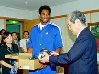 「コービー」神戸ビーフから命名 NBAコービー・ブライアント氏、神戸とゆかり