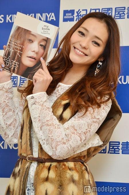 「my book Rena Takeshita」発売記念イベントを行った竹下玲奈
