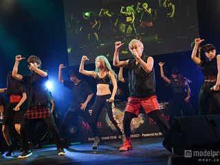話題の大型新人ユニット・lol、クール&セクシーな魅力で観客釘付け 圧巻ダンスパフォーマンス披露