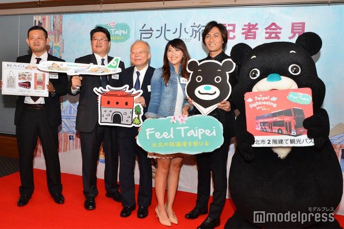 台北観光大使就任イベントの様子(C)モデルプレス