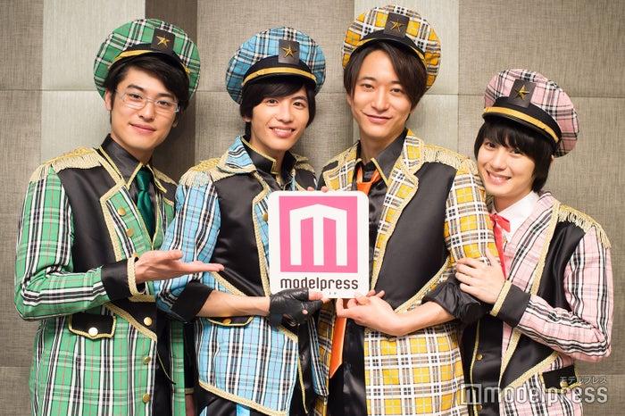 (左から)堀井新太、志尊淳、浅香航大、小越勇輝 (C)モデルプレス