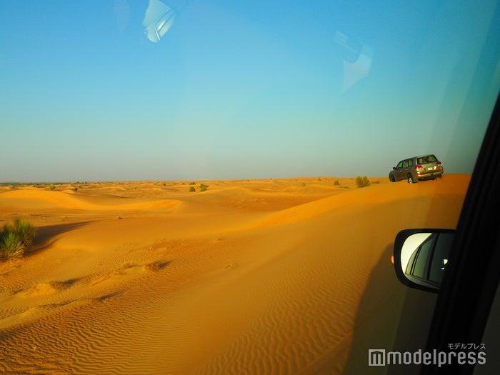 砂丘を駆け巡るアクティビティはスリル満点(C)モデルプレス