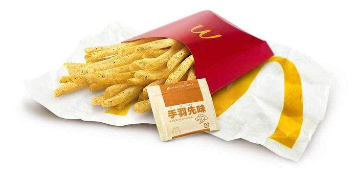シャカシャカポテト 手羽先味/画像提供:日本マクドナルド