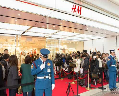 約1200人が行列、国内最大級「H&M」京都1号店オープン ブランド初となる試みも