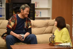 西田敏行、風吹ジュン/「家族ノカタチ」第9話より/画像提供:TBS