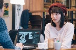 飯豊まりえ/「電影少女」第6話より(C)「電影少女2018」製作委員会