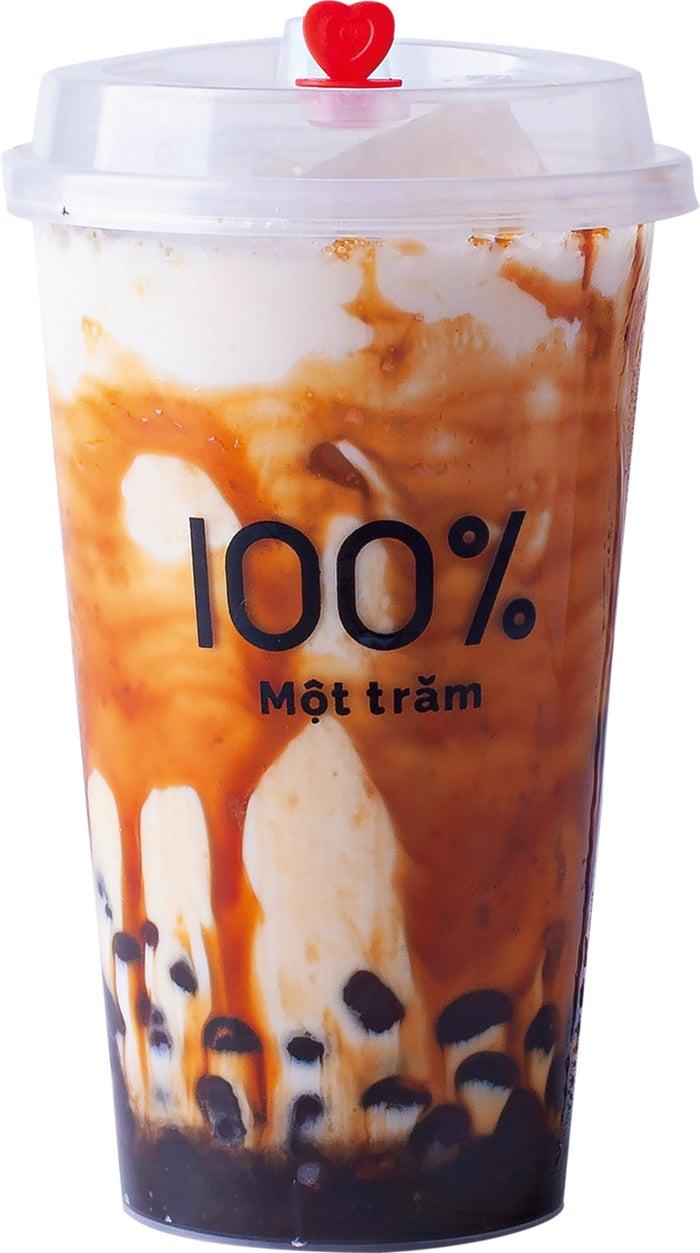 沖縄黒糖タピオカミルク M490円/L590円/画像提供:オペレーションファクトリー