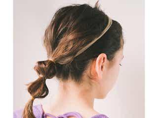 大人女子におすすめしたい伸ばしかけ前髪×ポニーテール18選