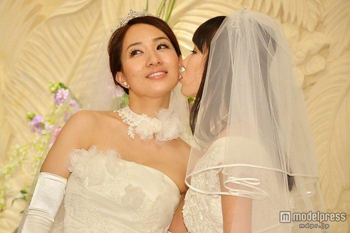 一ノ瀬文香(左)、杉森茜(右)