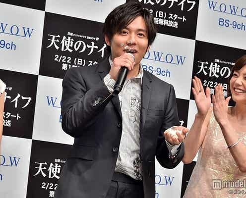 """小出恵介、倉科カナら美女からケーキを""""あ~ん"""" バースデーサプライズに感激"""