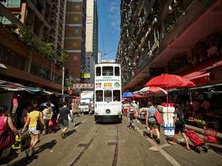 香港トラムで巡る観光スポット5選、極上ルーフトップバーや穴場エリアも網羅