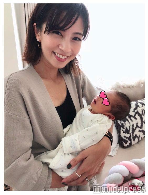 安田美沙子と愛息子/安田美沙子オフィシャルブログ(Ameba)より