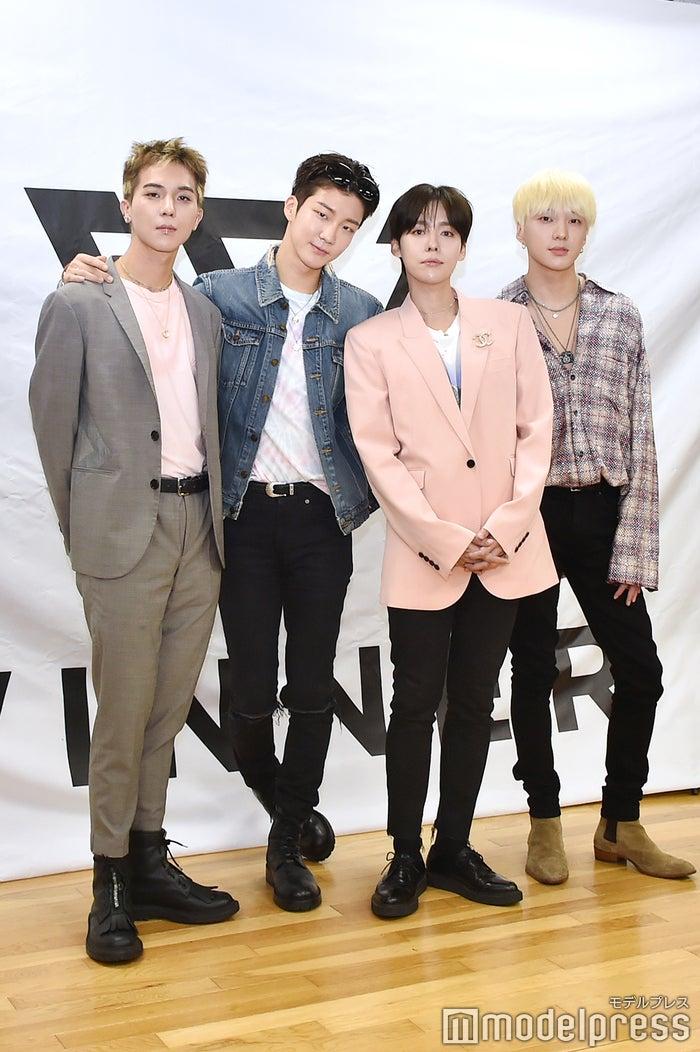 WINNER(MINO、HOONY、JINU、YOON)(C)モデルプレス