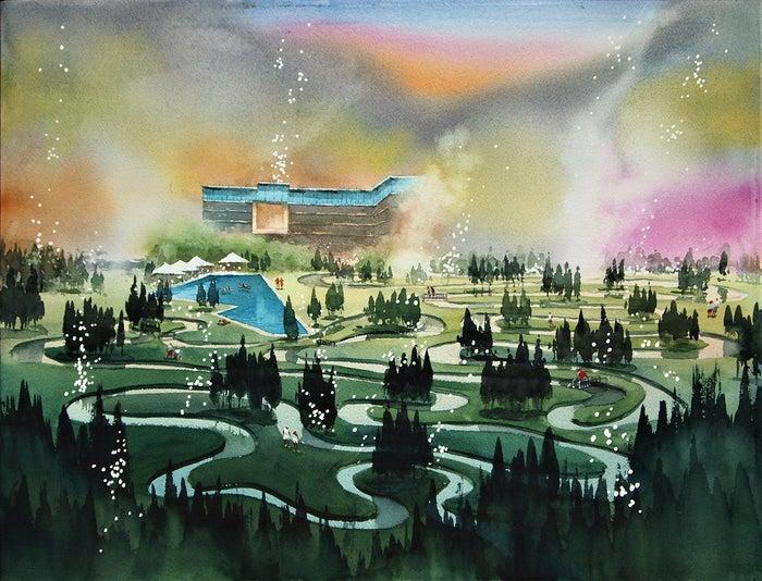 「星のやグーグァン」イメージ/画像提供:星野リゾート