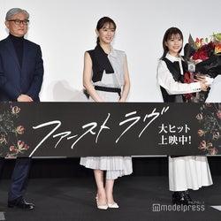 堤幸彦監督、北川景子、芳根京子(C)モデルプレス