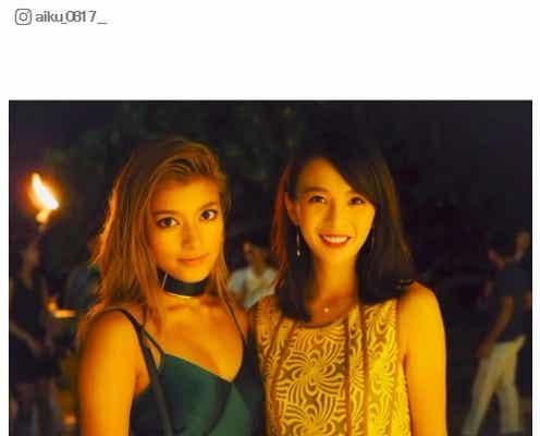 ローラ&舞川あいくが再会 元「Popteen」モデルの美女2ショットにファン歓喜