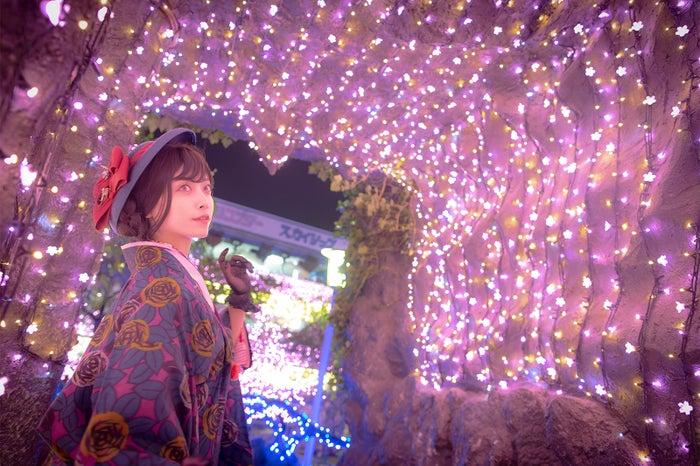 桜の洞窟/画像提供:花やしき
