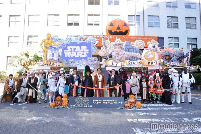 昨年のスター・ウォーズパレードの様子/画像提供:カワサキ ハロウィン プロジェクト