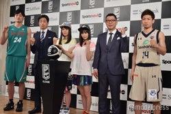 田中大貴選手(左端)、広瀬アリス(左から3番目)(C)モデルプレス