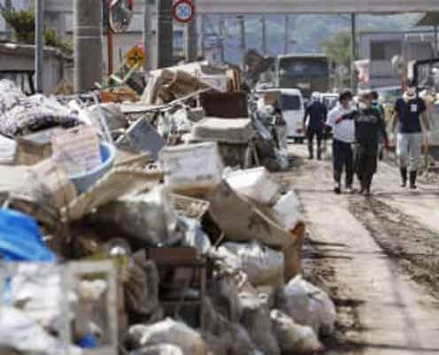 災害ごみの処理が長期化 29都道県で1年以上