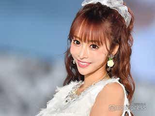 人気キャバ嬢「小悪魔ageha」モデル 一條りおな、純白ドレス姿がお姫様!<関コレ2018A/W>