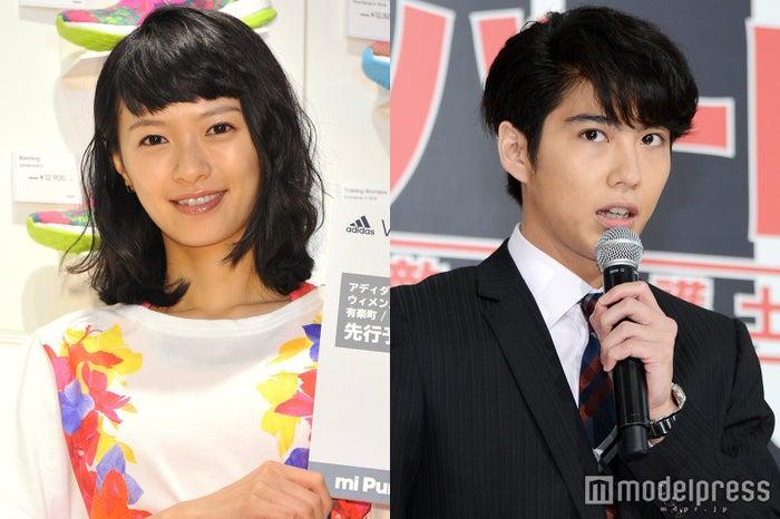 (左から)榮倉奈々、賀来賢人(C)モデルプレス