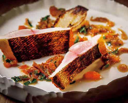 うにのスープにうっとり…。見た目も美しい魚料理が楽しめるモダンフレンチへ