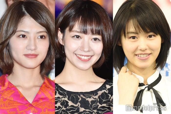 若月佑美、吉谷彩子、竹内愛紗 (C)モデルプレス