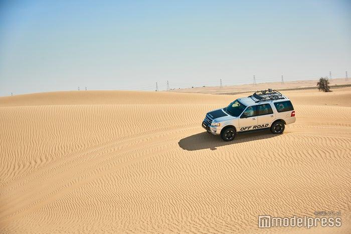 砂漠をダイナミックに疾走するデザートサファリ(C)モデルプレス
