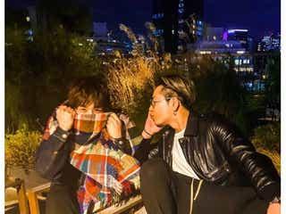 三代目JSB登坂広臣&岩田剛典のバースデー祝福2ショットが話題「カップルみたい」「可愛いすぎる」