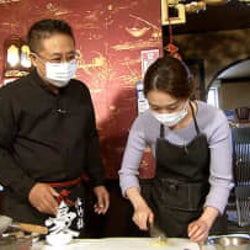 千須和侑里子アナが「豆腐チゲ」に挑戦! インスタント麺を生麺に近づける裏技も