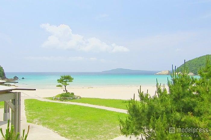 高浜海水浴場の海は「モルディブ級」という声も