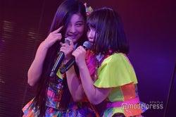 道枝咲、矢作萌夏/AKB48柏木由紀「アイドル修業中」公演(C)モデルプレス