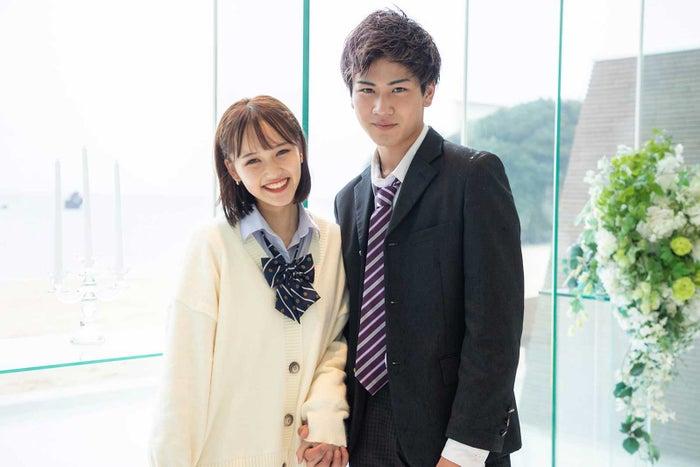 西綾乃、三島啓史「今日、好きになりました。-卒業編2021-」(C)AbemaTV, Inc.