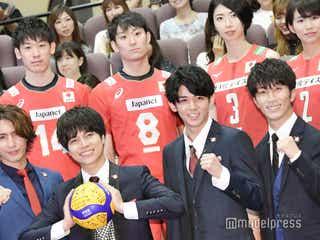 ジャニーズWEST「Big Shot!!」猛アピールでバレー日本代表にエール