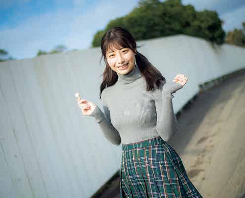 AKB48鈴木優香、グラビア初登場 可憐な魅力溢れる